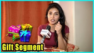Harshita Gaur Receives Gifts From Her Fans | Exclusive Segment
