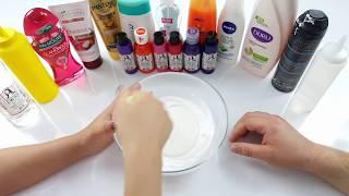 Slime ALLSTAR Challenge - HoppiTV ve Pervin-Slime'a Meydan Okuyoruz | Make Slime