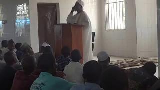 June 20th 2014 Unilorin Jumaat Prayer  Sermon by Prof AGAS Oladosu