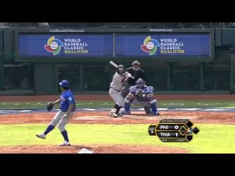 Philippines v Thailand (8-2) - Baseball Highlights - World Baseball Classic [15/11/2012]