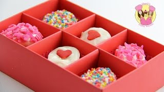 EASY MARSHMALLOW VALENTINES TREATS - Looks Like A Box Of Chocolates