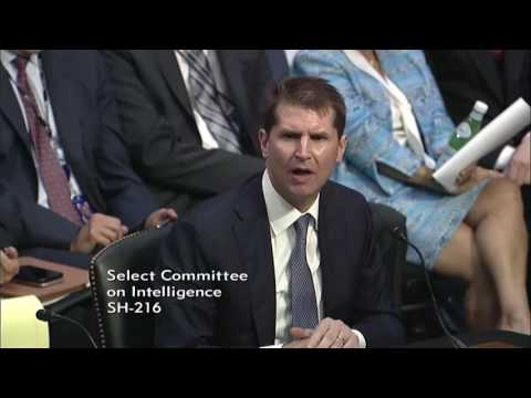 Thumbnail: June 21, 2017: Sen. Cotton Q&A at Intel Committee Hearing on Russia Interference in 2016 Elections