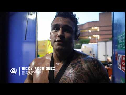 Nicky Rodriguez post-match interview