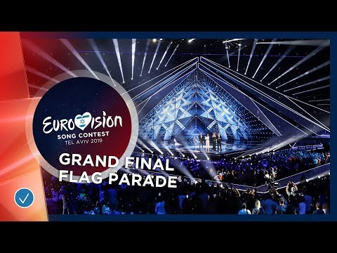Opening Of The Show And Flag Parade - Eurovision 2019