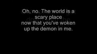 disturbed- down with the sickness (LYRICS!!)