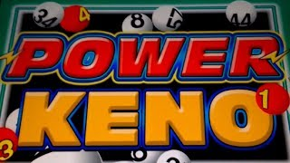 Power Keno by IGT, and by request! CLICK HERE to SUBSCRIBE - FOR MO...
