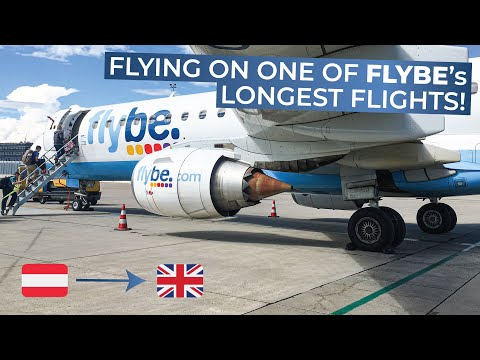 TRIPREPORT | FlyBe (ECONOMY) | Vienna - London Southend | Embraer 195