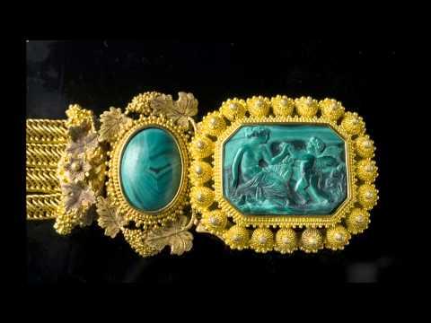 Каменные сказки. Ювелирные украшения с малахитом
