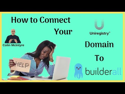 How to connect your Uniregistry Domain to Builderall - [Simple Steps]