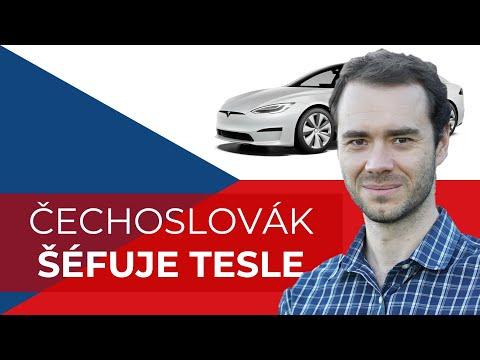 ANDREJ KARPATHY ČECHOSLOVÁK V TESLE