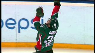 Сольный проход и гол Обухова / Obukhov scores with crush the net challenge