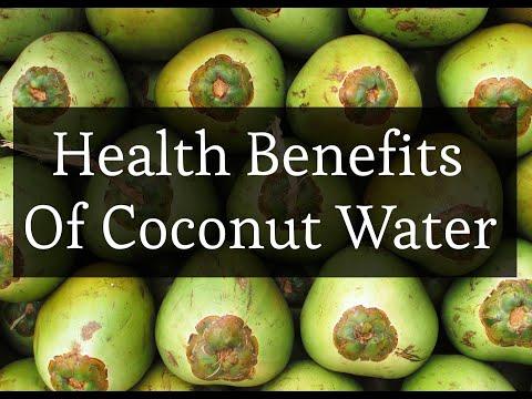 Health Benefits Of Coconut Water.