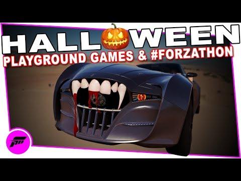 Horizon Halloween (FORZA HORIZON 3 ONLINE) Playground Games & #FORZATHON