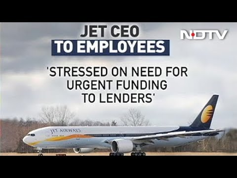 """""""Will Work With Lenders To Revive Airline"""": Jet CEO To Employees"""