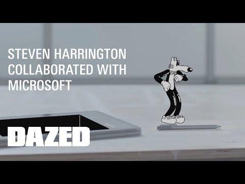 Steven Harrington + Microsoft Surface Experiments: Far Outttt