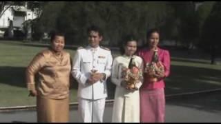 Repeat youtube video 27 กรกฎาคม 2552 - การพิธีสมรสประทาน