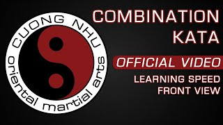 Cuong Nhu Combination Kata - Official Kata - Learning Speed - Front View