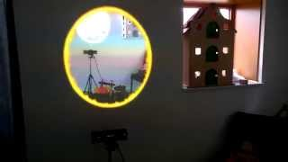 real life portal a holographic window using kinect