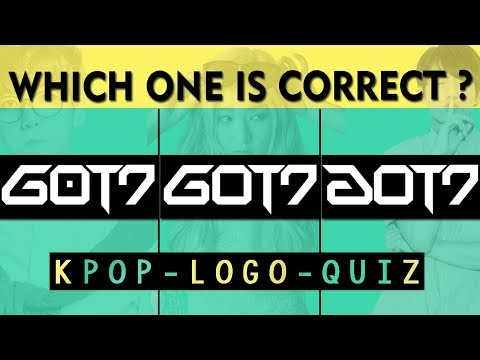 KPOP LOGO TEST : WHICH ONE IS CORRECT ?