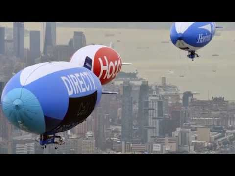 Blimp Parade | Banner Towing | Van Wagner Aerial Slideshow