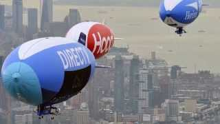 Blimp Parade | Banner Towing | Van Wagner Aerial Slideshow