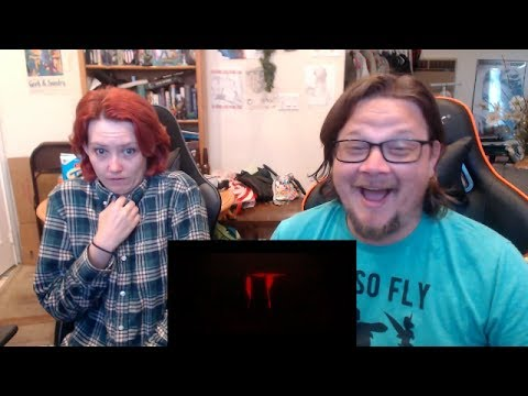 IT - Official Trailer - REACTION!