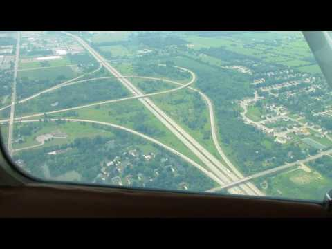 Landing @ Grand Ledge, MI. Aerial Tour Lansing, MI. 7/21/17
