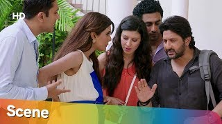 Arshad Warsi funniest scene from Mr Joe B Carvalho - Geeta Basra - Superhit Hindi Comedy Movie