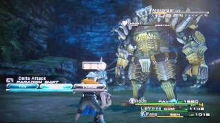 Final Fantasy XIII Alexander Hope