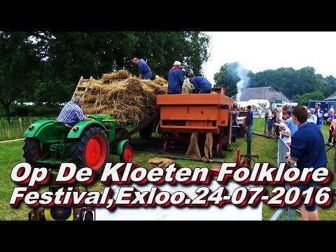 Op De Kloeten Folklore Festival Exloo 24 07 2016