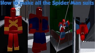 How to make Spider Man suits on SHL 2!