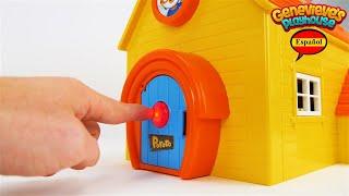 Aprende Palabras con Juguetes Pororo Casa de Muñecas!