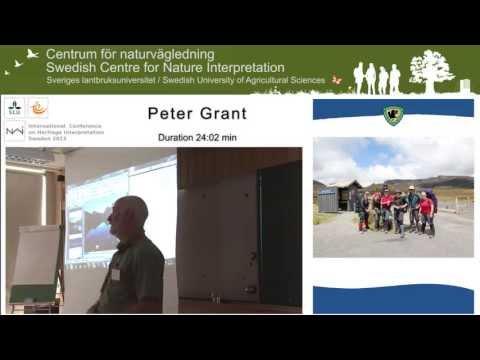 Peter Grant. International Conference on Heritage Interpretation Sweden 2013.