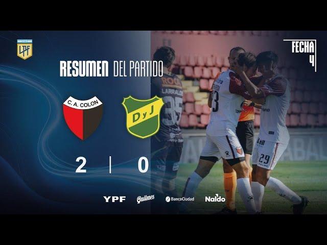 Copa Liga Profesional | Fecha 4 | resumen de Colón - Defensa