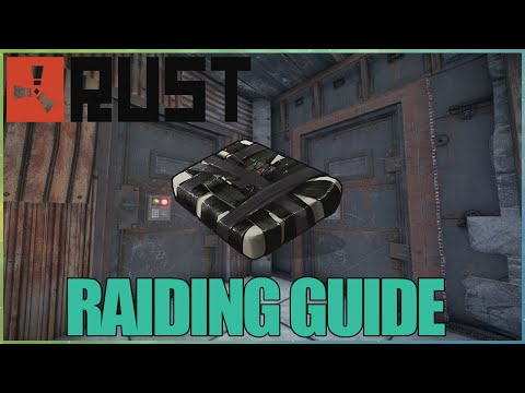 RUST: RAIDING GUIDE FOR BEGINNERS! (C4 DAMAGE) (NEW)