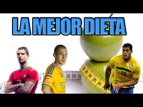 dieta alimenticia de un futbolista