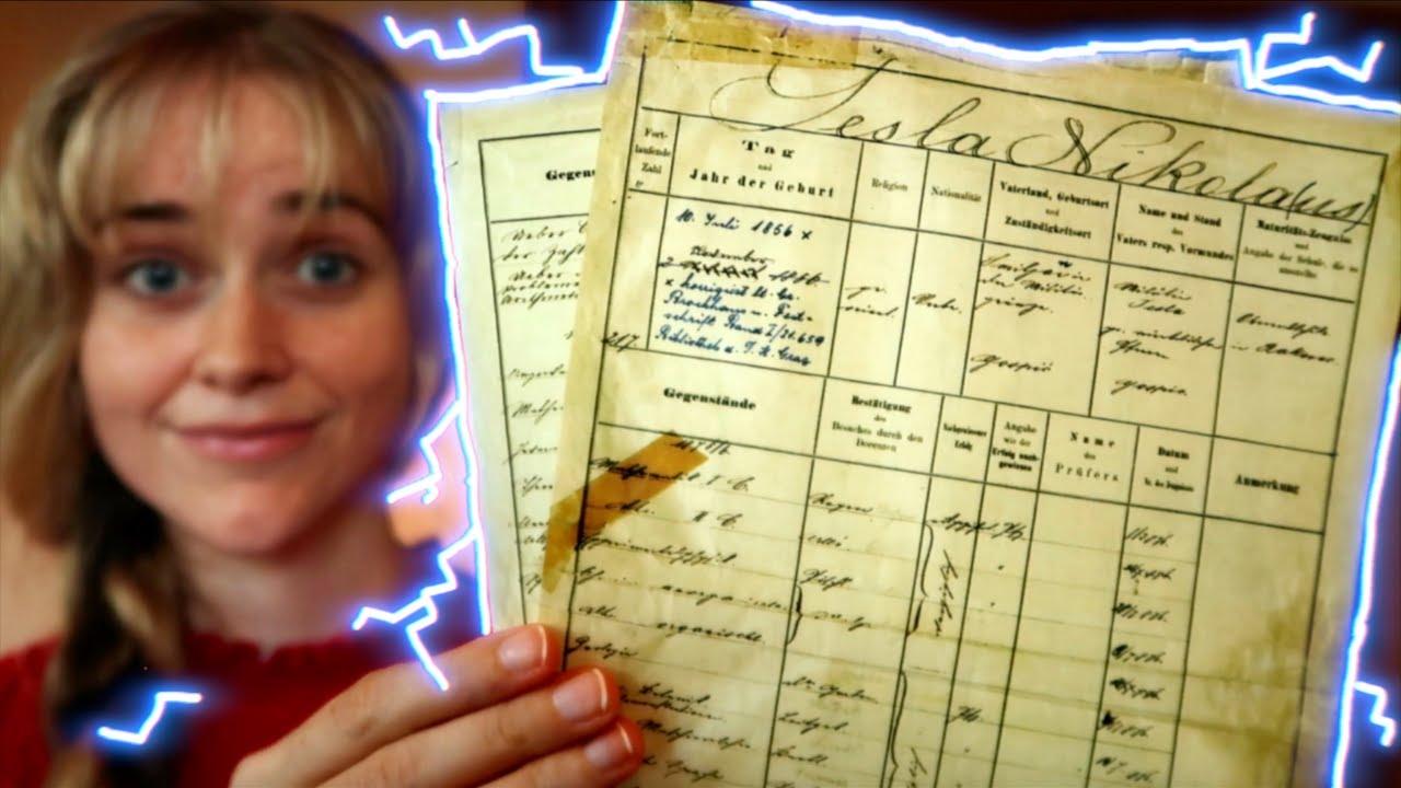 Nikola Tesla's grades ⚡️