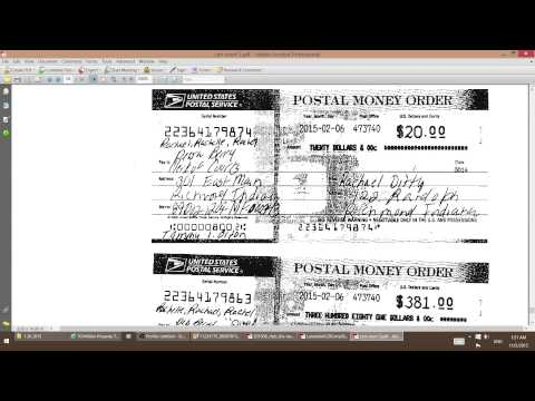 judge horn rejected registered mail postal mo that he ordered paid