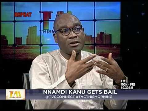 This Morning - 26th April 2017  Nnamdi Kanu gets bail