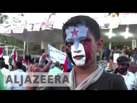Yemen protesters call for southern secession