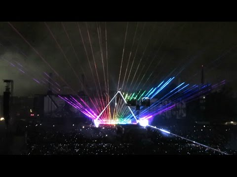Brain Damage, Eclipse - Roger Waters Live Mexico 2016 - Foro Sol Sept 29