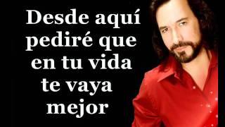 Marco Antonio Solis - Sigue sin mi (Karaoke)