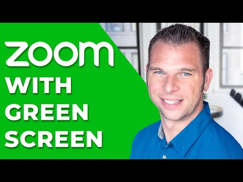 How To Use Zoom Virtual Background With Green Screen