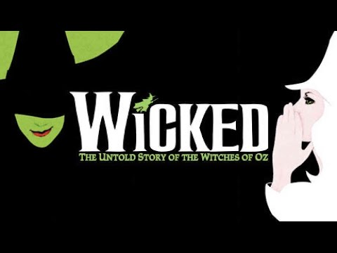 WICKED - Defying Gravity (KARAOKE duet) - Instrumental with lyrics on screen