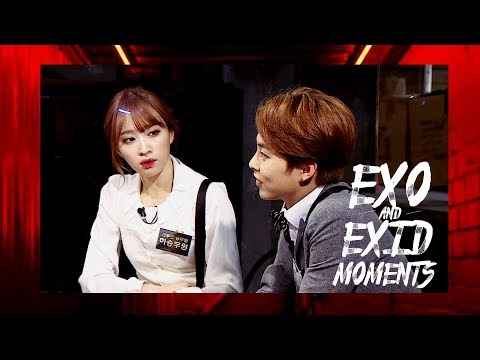(CUT) EXID Hyerin and Hani dancing - EXID funny moments #12 from YouTube · Duration:  1 minutes 38 seconds