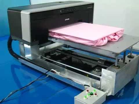 b4d536e3c A3 Demo(5): Light tshirt on DIY DTG Epson A3 direct to garment printer