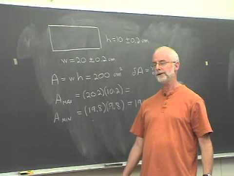 Propagation of Uncertainty, Parts 1 and 2