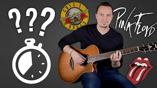 Guess 25 Songs By Famous BALLAD Guitar RIFFS