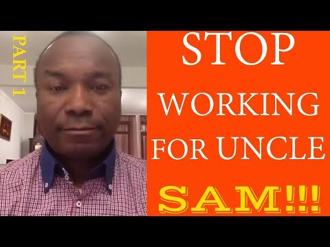 2016-06-06: STOP WORKING FOR UNCLE SAM!!! (PART 1)