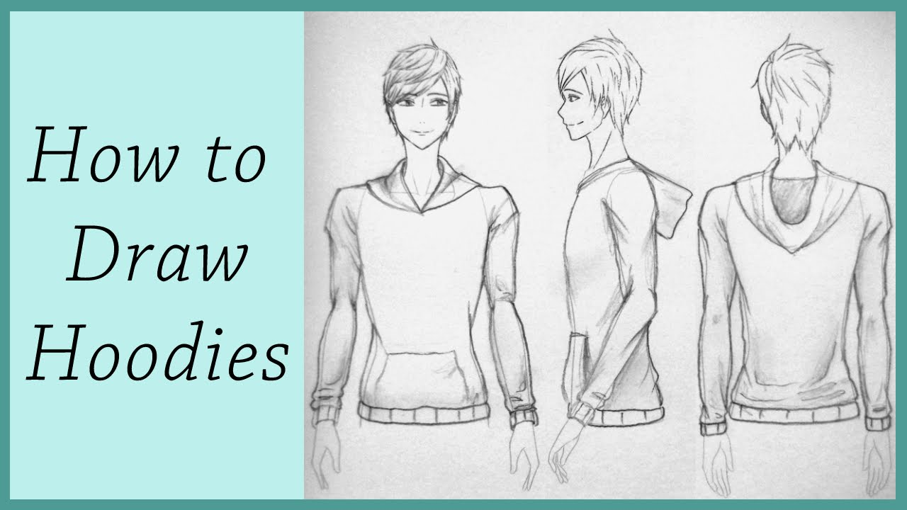 How To Draw Hoodies